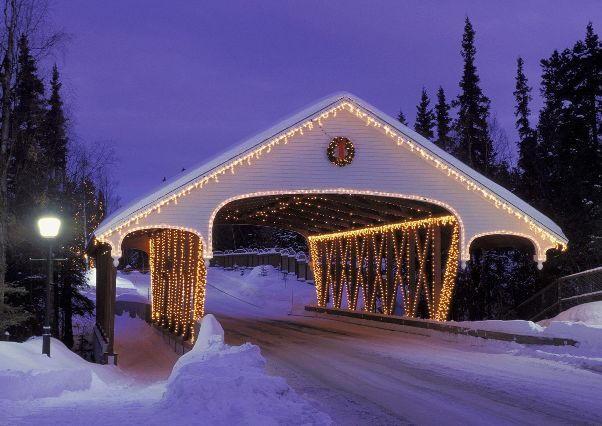 Christmas-in-Alaska du học Mỹ