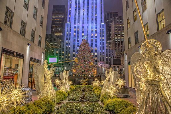 Christmas-in-Chicago du học Mỹ