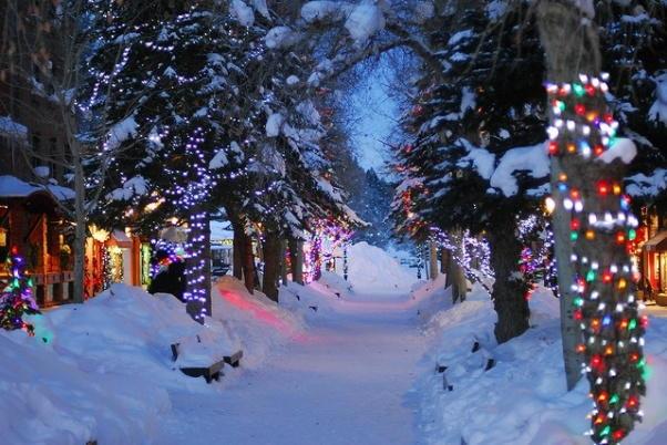 Christmas-in-Colorado du học Mỹ